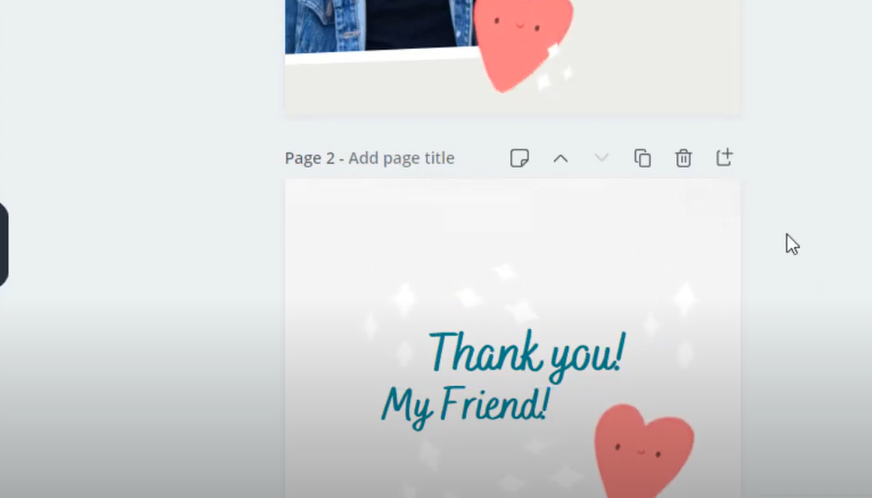 intro thank you page