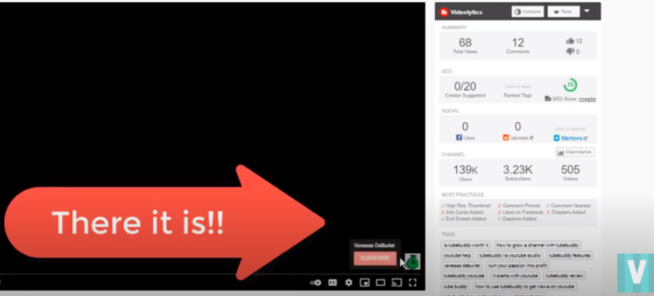 how to create a video watermark - the result
