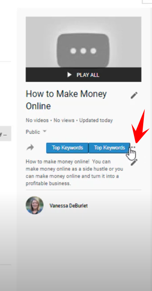 How to add videos to playlist